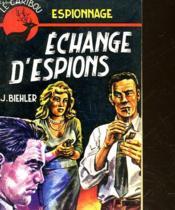 Echange D'Espions - Couverture - Format classique