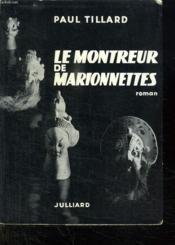 Le Montreur De Marionnettes. - Couverture - Format classique
