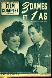 Tous Les Jeudis - Film Complet N° 457 - 3 Dames Et 1 As - Couverture - Format classique