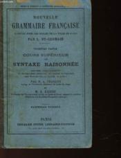 Nouvelle Grammaire Francaise - Couverture - Format classique