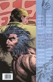 Deathblow & Wolverine ; Les Mysteres De Chinatown - 4ème de couverture - Format classique