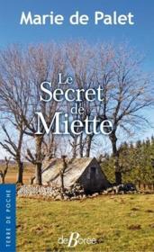 Le secret de Miette - Couverture - Format classique