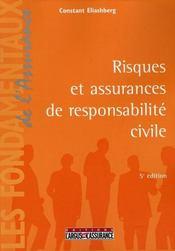 Risques et assurances de responsabilité civile - Intérieur - Format classique