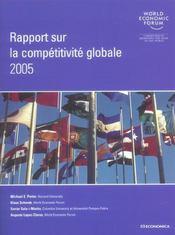 Rapport Sur La Competitivite Globale, 2004-2005 - Intérieur - Format classique