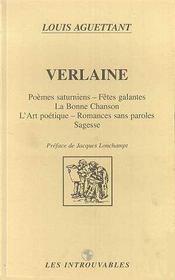 Verlaine - Couverture - Format classique