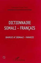 Dictionnaire Somali-Francais - Intérieur - Format classique