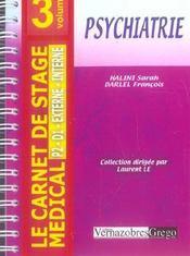 Psychiatrie - Intérieur - Format classique