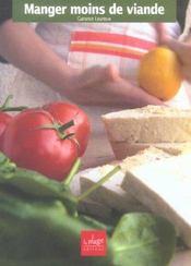 Manger Moins De Viande - Intérieur - Format classique