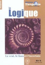 La logique - Couverture - Format classique