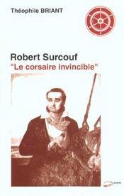 Robert Surcouf Le Corsaire Invincible - Intérieur - Format classique