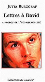 Lettres à David à propos de l'homosexualité - Couverture - Format classique