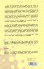 Lendemains d'empire ; les soldats de napoleon dans la france du xix siecle - 4ème de couverture - Format classique