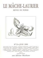 Mache-laurier n24/juin 2006 - Couverture - Format classique