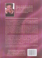 Amour amour amour ; la puissance de l'acceptation - 4ème de couverture - Format classique