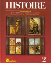 Histoire 2e Eleve Collection Marseille - Couverture - Format classique