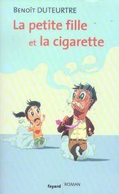 La petite fille et la cigarette - Intérieur - Format classique