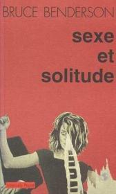 Sexe et solitude - Couverture - Format classique