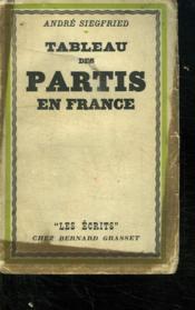 Tableau Des Partis En France. - Couverture - Format classique