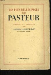 Les Plus Belles Pages De Pasteur. - Couverture - Format classique