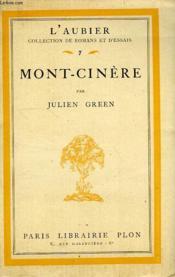 Mont-Cinere - Couverture - Format classique