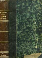 Timon Et Zozo - Couverture - Format classique