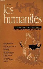 Les Humanites - Classe De Lettres - Mai 1959 - Couverture - Format classique