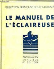 Le Manuel De L'Eclaireuse - Couverture - Format classique