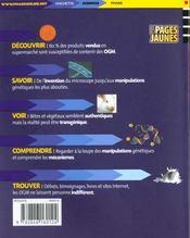 Faut-Il Avoir Peur Des Ogm - 4ème de couverture - Format classique