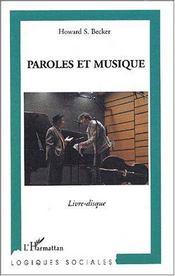 Paroles et musique - Intérieur - Format classique