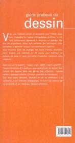 Guide pratique du dessin - 4ème de couverture - Format classique