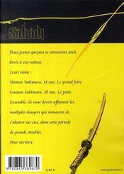 Sidooh t.1 - 4ème de couverture - Format classique