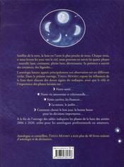 Les secrets de l'astrologie lunaire - 4ème de couverture - Format classique