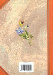 Le Langage Des Fleurs - 4ème de couverture - Format classique
