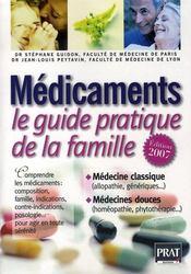Médicaments ; le guide pratique de la famille (édition 2007) - Intérieur - Format classique
