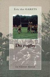 Du rugby - Couverture - Format classique