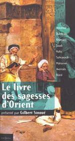 Le livre des sagesses d'Orient - Intérieur - Format classique