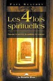 Quatre Lois Spirituelles - Couverture - Format classique