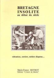 Bretagne insolite - Couverture - Format classique