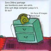 Zara Zebra Partage - 4ème de couverture - Format classique
