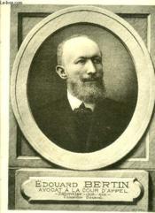 Edouard Bertin - Medaillons Bordelais - Livraison N° 98 - Couverture - Format classique