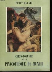 Chef-D'Oeuvre De La Pinacotheque De Munich - Couverture - Format classique