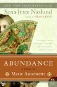 Abundance - A Novel Of Marie Antoinette - Couverture - Format classique
