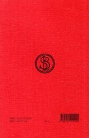 Institution oratoire t.1 ; livre 1 - 4ème de couverture - Format classique