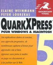 Quarkxpress - Intérieur - Format classique