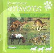 Les animaus herbivores - Intérieur - Format classique