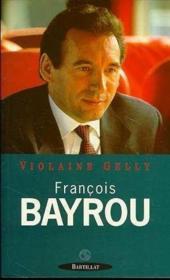 Francois bayrou - Couverture - Format classique