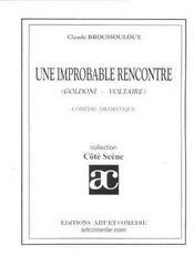 Une improbable rencontre ; comedie dramatique - Intérieur - Format classique