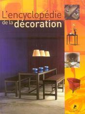 L'encyclopédie de la décoration - Intérieur - Format classique