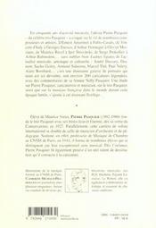 La grande parade de pierre pasquier ; un demi-siecle de caricatures - 4ème de couverture - Format classique