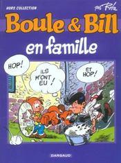Boule et Bill en famille - Intérieur - Format classique